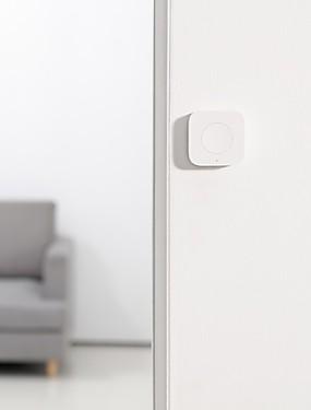 preiswerte Xiaomi Smarte Geräte-Xiaomi Aqara Smart Wireless Switch-Taste in Gyro Functionzigbee Wifi gebaut Arbeit mit Xiaomi Smart Home Mijia Mi Home App