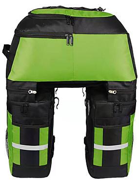 cheap Sports & Outdoors-FJQXZ 70 L Bike Panniers Bag Bike Rack Bag 3 In 1 Large Capacity Waterproof Bike Bag 1680D Polyester Bicycle Bag Cycle Bag Cycling / Bike