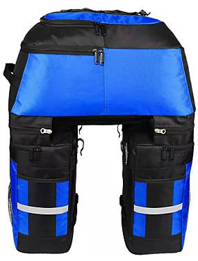 cheap Sports & Outdoors-FJQXZ 70 L Bike Panniers Bag Bike Rack Bag 3 In 1 Adjustable Large Capacity Bike Bag 1680D Polyester Bicycle Bag Cycle Bag Cycling / Bike / Waterproof / Reflective Strips / Waterproof Zipper