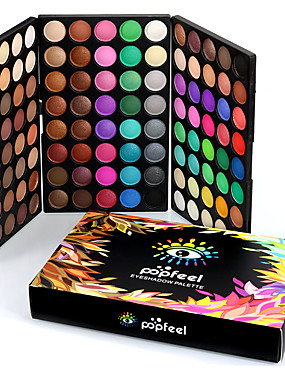 cheap Makeup For Eyes-120 Colors Eyeshadow Palette Eye Matte Shimmer Glitter Shine smoky Daily Makeup Cosmetic Gift
