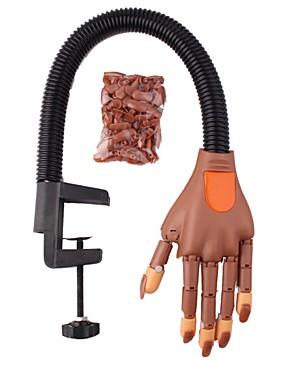 levne Ostatní díly-hřebík umění cvičení protetické ruční ohybný činnost model falešné ruka s držákem poslat společné ruční lak na nehty šablony