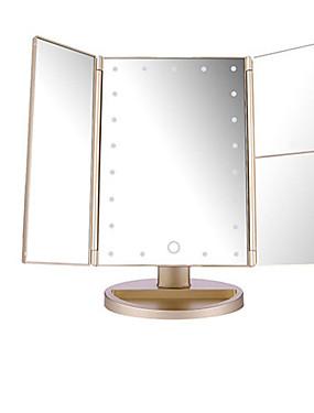 preiswerte Kosmetikspiegel-Kosmetikspiegel Faltbar / Professionell / Einfach zu tragen Bilden 1 pcs ABS Quadratisch Krankenpflege / Allgemeine Anwendung Moderne / Modisch Leistung / Verabredung / Festtage Alltag Make-up