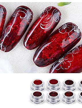 levne Nůžky a kleštičky-1 sada Plast + PCB + voděodolný epoxidový obal Nástroje na malování nehtů Pro Nehet na ruce Bezpečnost / Šetrný vůči životnímu prostředí / Ergonomický design Bílá série nail art manikúra pedikúra