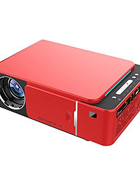 preiswerte Audio & Video für Ihr Zuhause-t6 full hd led projektor 4 karat 3500 lumen hdmi usb 1080 p portable kino proyector beamer mit mysteriösen geschenk