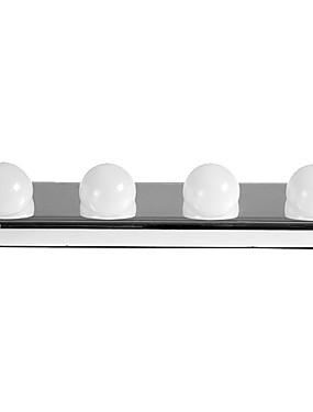 preiswerte Kosmetikspiegel-1 stück 4 led lampen spiegelleuchte saugnapf eitelkeit licht batteriebetriebene wandleuchte