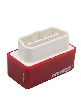 preiswerte Automobil 119-ncelec stecker und stick nitro obd2 chip tuning box leistung ecu remap power für auto benzin 2 stück (rot)