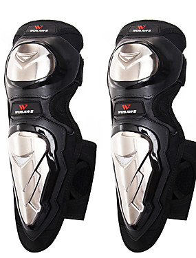 cheap Sports & Outdoors-Knee Brace for Backcountry / Motorsports / Motobike / Motorcycle Unisex Protection / Easy dressing / Fits left or right knee Motorcycle / Bike Stainless steel / Velvet / EVA 1 Pair Black