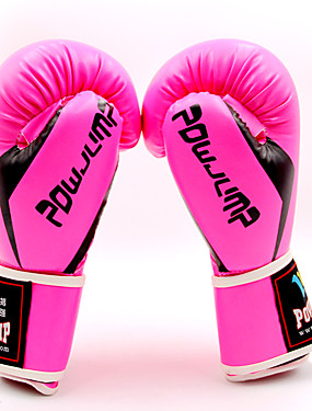 cheap Sports & Outdoors-Boxing Bag Gloves / Pro Boxing Gloves / Boxing Training Gloves for Boxing / Kick Boxing / Muay Thai Unisex Easy dressing / Vibration dampening / Eases pain PU Leather / Polyurethanes 1 Pair Rainbow