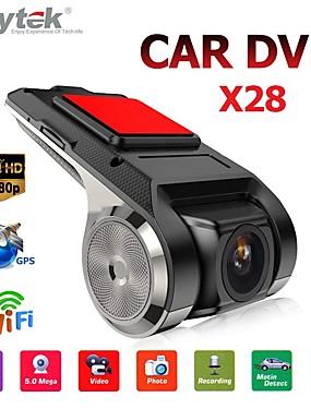 preiswerte Automobil 1126-Top-anytek x28 dash cam fhd 1080p auto dvr 150 grad weitwinkel auto dvr gps video recorder mit wifi / mini / g-sensor / adas / loop-aufnahme / montion erkennung