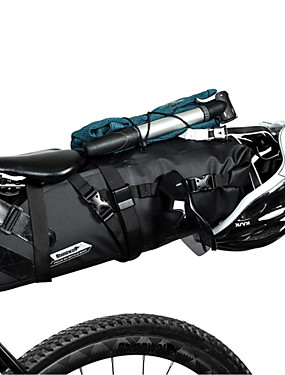 cheap Sports & Outdoors-RHINOWALK 5/10/13 L Bike Saddle Bag Adjustable Large Capacity Waterproof Bike Bag PVC(PolyVinyl Chloride) Bicycle Bag Cycle Bag Outdoor Exercise Multisport