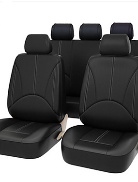 preiswerte Automobil 1126-Top-4 teile / satz 2 Vordersitzbezüge Erweiterte PU Leder Auto Universal Autositzbezüge