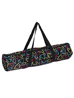 cheap Sports & Outdoors-Waterproof Canvas Practical Yoga Pilates Mat Carry Strap Drawstring Bag Sport Exercise Gym Fitness Backpack for Yoga Mat