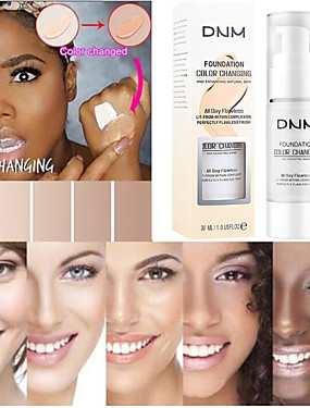 cheap Makeup For Face-30ml Color Changing Liquid Foundation Makeup Change To Your Skin Tone By Just Blending