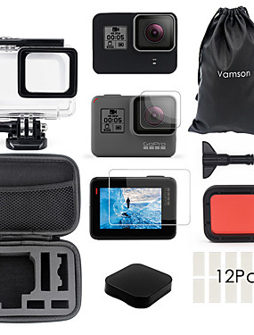cheap Sports & Outdoors-Waterproof Housing Case Waterproof Case For Action Camera Gopro 7 Gopro 6 Gopro 5 Traveling Ice Skate Winter Sports ABS+PC