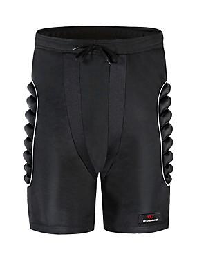 cheap Sports & Outdoors-WOSAWE Soared 3D Protected Buttocks EVA Padded Shorts Protective Gear Impact Pad Ski Skateboard Black