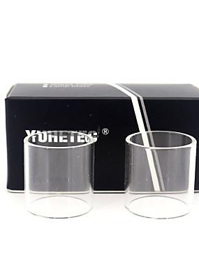 preiswerte Unterhaltungselektronik-yuhetec ersatzglasröhre für innokin ares mtl rta 5ml 2 stück