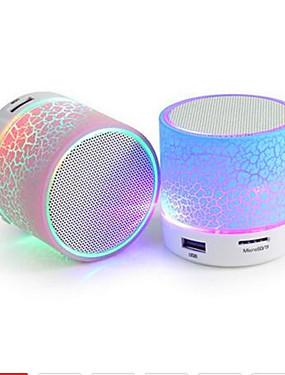 preiswerte Unterhaltungselektronik-Mini drahtloser Lautsprechersprung des Lautsprechers a9 bluetooth führte Stereoaudiomusikspieler tf usb-Subwoofer bluetooth Sprecher mp3