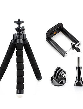 cheap Sports & Outdoors-Tripod Portable Comfortable Ultra Light (UL) For Action Camera Outdoor Exercise Multisport Camping / Hiking / Caving Sponge