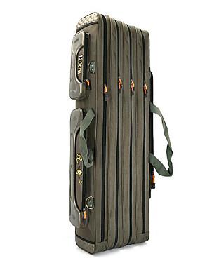"cheap Sports & Outdoors-Fishing Rod Bag Flies Box Waterproof 2 Trays Leather 125 cm*19 1/3"" (49 cm)*100 cm / Sea Fishing / Ice Fishing / Carp Fishing / Bass Fishing / General Fishing"