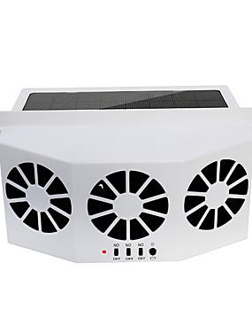 preiswerte Autoleben Geräte-Autolüfter 3 Kühlerlüfter Solarbetriebener Kühlerlüfter Auspuff tragbarer sicherer Autolüfter