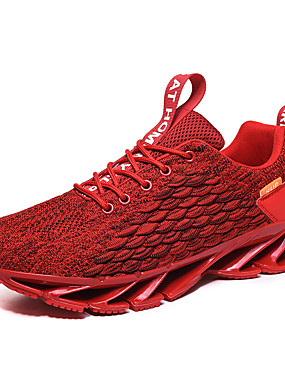 cheap Sports & Outdoors-Men's Novelty Shoes Comfort Shoes Light Soles Spring & Summer / Fall & Winter British / Preppy Daily Outdoor Trainers / Athletic Shoes Running Shoes / Walking Shoes Knit / Tissage Volant Breathable