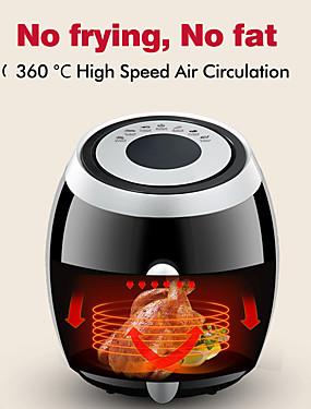 preiswerte Smart Heim-Geräte-edoolffe digital air fryer 3.6l oilless cooker elektrische heißluftfritteuse doppel topf design touchscreen antihaft korb 1500 watt