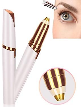preiswerte Augenbrauen Accessoires-elektrischer augenbrauenschneider rasierer perfekte brauen neue tragbare elektrische augenbrauenformmaschine make-up