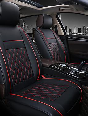 preiswerte Automobil 1126-Top-Universal Auto Leder Unterstützung Pad Autositzbezüge Kissen Zubehör
