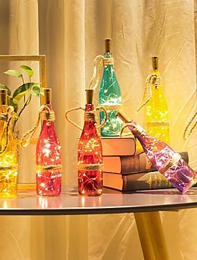 preiswerte Haus & Garten-loende barisc weinflasche lichter mit kork led lichterkette batterie 2m 20 leds silber kupferdraht wasserdicht