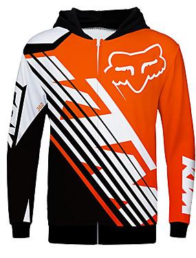 preiswerte Handys & Elektronik-fox ktm 360 motorrad jersey kleidung jacke für unisex polyster frühling / herbst / winter wärmer / atmungsaktiv / schnell trocken