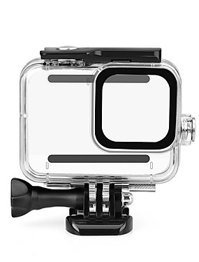 cheap Sports & Outdoors-Waterproof Housing Case Shockproof Water Resistant Dust Proof For Action Camera Gopro 8 Diving Multisport Diving / Boating PC