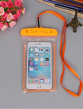cheap Other Phone Case-Summer Luminous Waterproof Pouch Swimming Gadget Beach Dry Bag Phone Case Cover Camping Skiing Holder For Cell Phone 3.5-6Inch