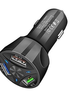 preiswerte Handys & Elektronik-neues Autoaufladeeinheit qc 3.0 3usb schnelles Aufladenaufladeeinheit für xiaomi MI a2 a3 8 9 Se mischen 2s 3 poco f1 Samsung iphone huawei Autoaufladeeinheit