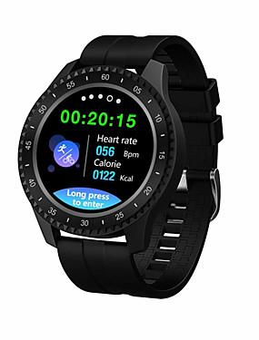 preiswerte Unterhaltungselektronik-F17 Smartwatch BT Fitness Tracker Unterstützung benachrichtigen / Blutdruckmessung Sport Smart Watch für Samsung / iPhone / Android-Handys