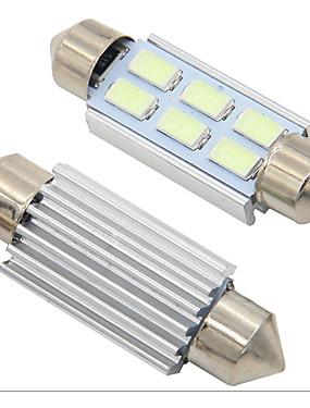 preiswerte Handys & Elektronik-2 stücke girlande canbus 31mm 36mm 39mm 41mm c5w led fehlerfrei 5630 5730 6 led smd innenlesung weiß eisblau lampen kuppellampen 12 v