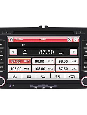 preiswerte Automobil-swm-h 7 zoll 2 din windows ce in-dash auto dvd player / auto mp5 player / auto multimedia player touchscreen / eingebaute bluetooth unterstützung sd / usb rca / mini usb für volkswagen