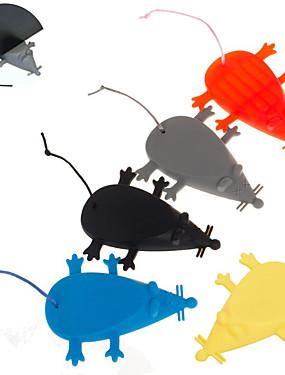 preiswerte Unterhaltungselektronik-1 stück sicherheit niedlichen cartoon maus silikon türstopper türstopper wachen sicheren schutz klemmschutz hand kindersicherheit sicherheit