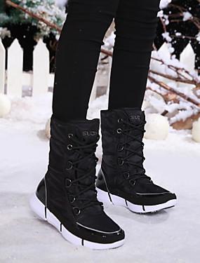 cheap Sports & Outdoors-Women's Snow Boots Winter Boots Rubber Nylon Fleece Ski / Snowboard Outdoor Exercise Ice Skate Anti-Slip Wearable Skiing Winter