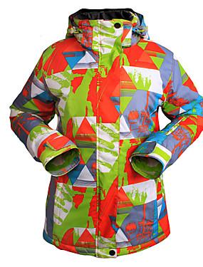 cheap Sports & Outdoors-Wild Snow Women's Ski Jacket Camping / Hiking Winter Sports Thermal / Warm Waterproof Windproof Terylene Jacket Top Ski Wear