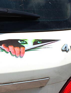 preiswerte ≤ 19.9€-Schwarz / Grün Auto Aufkleber Humor Türaufkleber / Hood Aufkleber / Auto Schwanz Aufkleber keine Angaben 3D Aufkleber