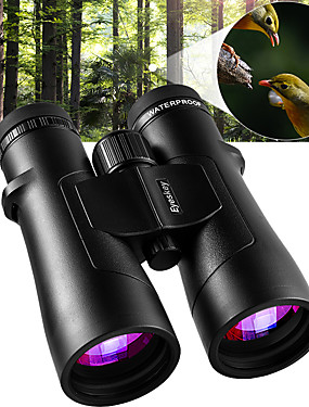 cheap Sports & Outdoors-Eyeskey 10 X 50 mm Binoculars Roof Achromatic refractor Waterproof IPX-7 Extra Low Dispersion ED Lens Outdoor Professional Fully Multi-coated BAK4 Hunting Camping Hiking Spectralite Coating