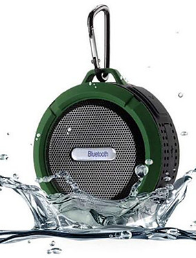cheap Outdoor Speakers-C6 Outdoor Wireless Bluetooth 4.1 Stereo Portable Speaker Built-in Mic Shock Resistance IPX4 Waterproof Louderspeaker r20