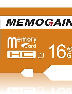 preiswerte Micro SD-Karte/TF-MEMOGAIN 16GB Micro SD / TF Speicherkarte UHS-I U1 75MB/s up / 10MB/s up Kamera