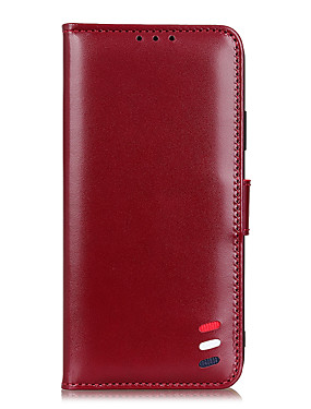 cheap Other Phone Case-Case For LG LG K40S Q7 K50S V60 ThinQ 5G K61 K41S K51 K51S Stylo 6 Card Holder Flip Full Body Cases Solid Colored PU Leather