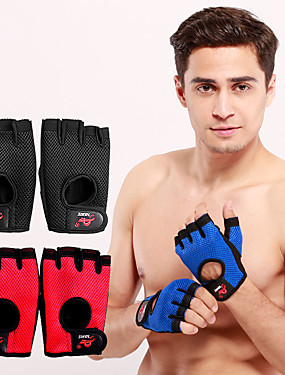 cheap Sports & Outdoors-AOLIKES Workout Gloves Weight Lifting Gloves 2 pcs Sports Lycra Polyester Microfiber Exercise & Fitness Weightlifting Boxing Training Durable Full Palm Protection & Extra Grip Breathable For Men Women