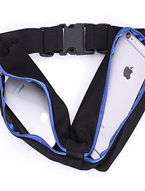 cheap Other Phone Case-Waist Bag Double Pocket Travel Running Jogging Sports Portable Big Capacity Waist Bag Gym Outdoor Funny Pack For Women Men