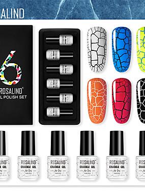preiswerte Nagelausrüstungen & Sets-UV-Gel für Finger schnell trocken romantische Serie Nail Art Maniküre Pediküre stilvoll / bunt
