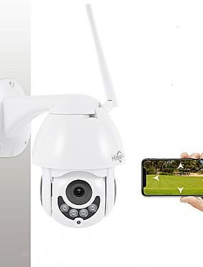 preiswerte Elektronik-hiseeu 1080p ptz pan / tilt fernbedienung ip kamera im freien wasserdicht mini geschwindigkeit zweiwege audio bewegungserkennung kuppel kamera 2mp farbe nachtsicht h.264 ip cctv überwachungskamera p2p