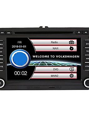 preiswerte Automobil 1126-Top-520wgnr04 7 zoll 2 din windows system in-dash auto dvd touchscreen eingebautes bluetooth für volkswagen unterstützung rds / gps / lenkradsteuerung / subwoofer ausgang / spiele / tf / usb