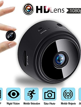 cheap Best for APP-MINI Wireless Camera 32G TF Card HD APP 25fps P2P IP WIFI Camera 1080P Night Vision Motion Detection 2 mp Security IP Camera Indoor Support 64 GB / CMOS / 50 / 60 / iPhone OS / Android
